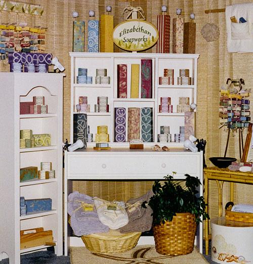 Homemade Soap Made for Tradeshow