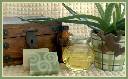 Essential oils make soap more luxurious.