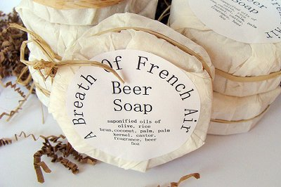 Beer Soap by A Breath of French Air