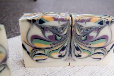 Butterfly Swirl Soap Recipe