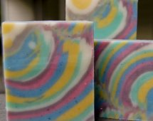 Column Swirl Soap