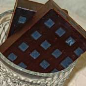 Chocolate Checkerboard Handmade Soap by Soap Making Essentials