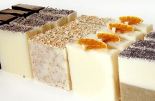 A mixed variety of soaps by Hint of Eden