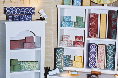 Decorative Soap Making Ideas