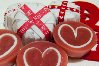 Valentine's Day Melt and Pour Soap Tutorial