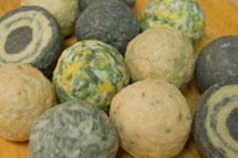 Make soap balls