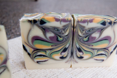 Butterfly Swirl Soap Recipe