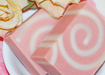 Champagne and Roses Soap Recipe by Soap Making Essentials