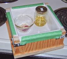 Prepared soap mould and additives