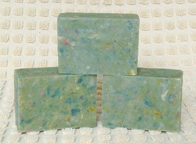 Rebatched Soap